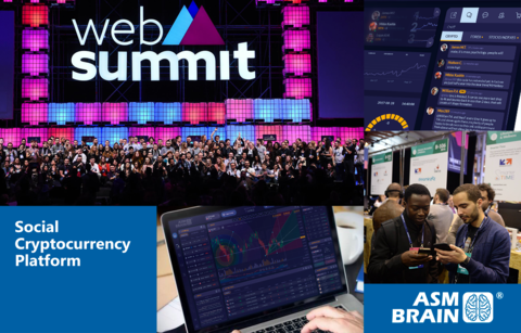 ASM Brain to participate in Web Summit 2018