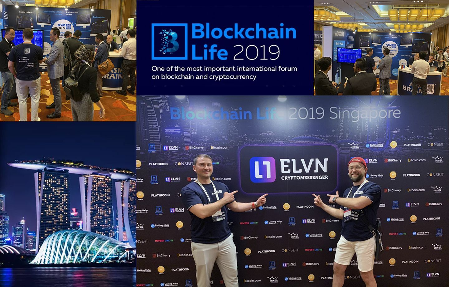 ASMBrain to attend Blockchain Life 2019 Asia